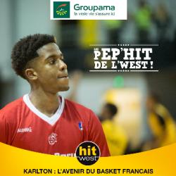 A Cholet, Karlton est la Pep'Hit du Basket Français