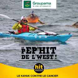 le Tour de la Bretagne en Kayak contre le cancer