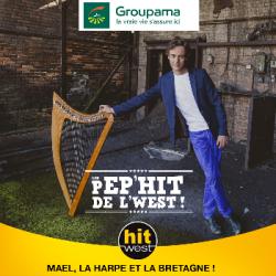 Mael explore la harpe en Bretagne