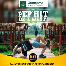 Fanny star du breakdance !